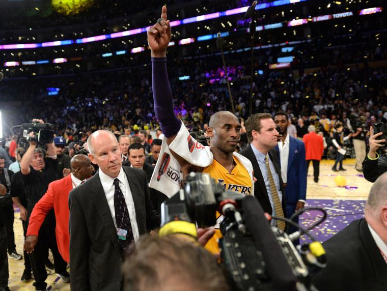 NBA: Utah Jazz at Los Angeles Lakers (Photo by Robert Hanashiro/USA TODAY Sports/Reuters)