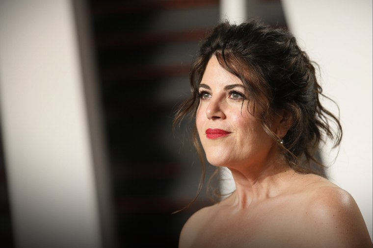 Monica Lewinsky arrives at the Vanity Fair Oscar Party in Beverly Hills, Calif., Feb. 28, 2016. (Photo by Danny Moloshok/Reuters)