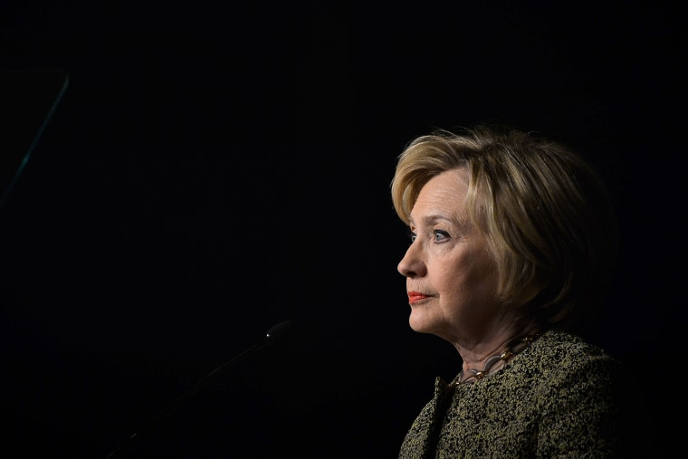 Democratic presidential candidate Hillary Clinton speaks to the Pennsylvania AFL-CIO Convention in Philadelphia, Pa., April 6, 2016. (Photo by Charles Mostoller/Reuters)