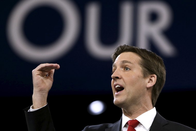 U.S. Senator Ben Sasse (R-NE) speaks at the American Conservative Union (CPAC) 2016 annual conference in Maryland March 3, 2016. (Photo by Gary Cameron/Reuters)