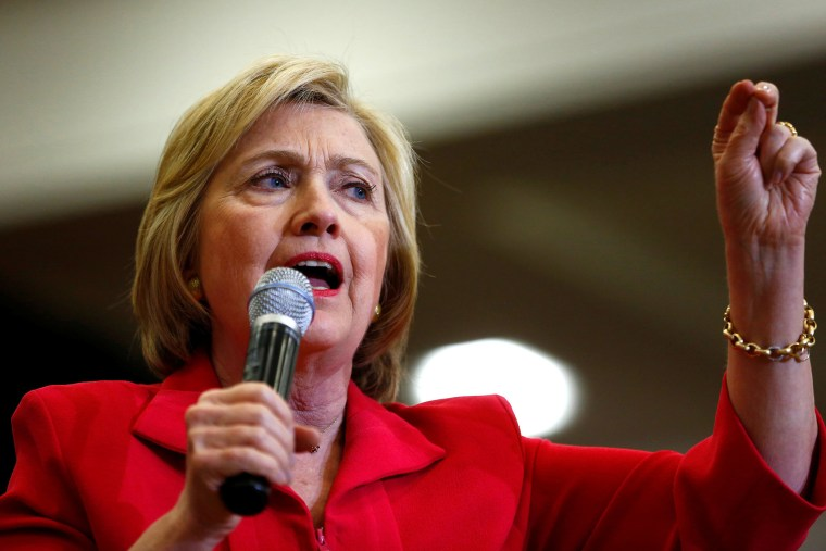 Democratic presidential candidate Hillary Clinton speaks at Transylvania University in Lexington, Ky., May 16, 2016. (Photo by Aaron P. Bernstein/Reuters)