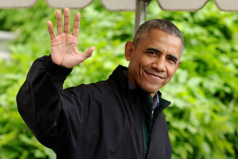 President Barack Obama waves as he walks out from the White House in Washington before his departure to Vietnam, May 21, 2016. (Photo by Yuri Gripas/Reuters)