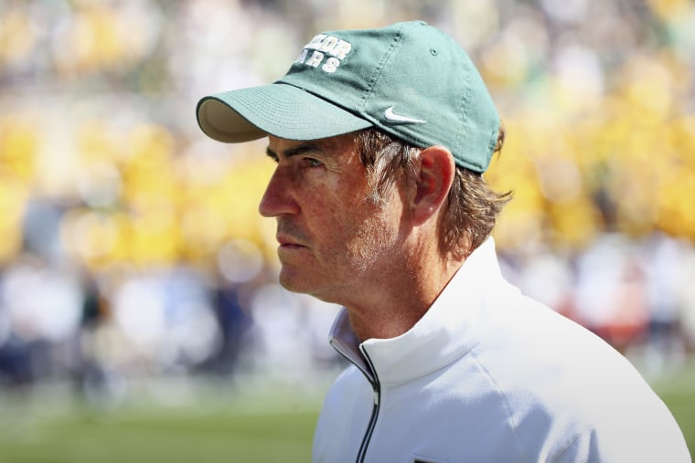 Art Briles on Oct. 17, 2015 in Waco, Texas. (Photo by Tom Pennington/Getty)