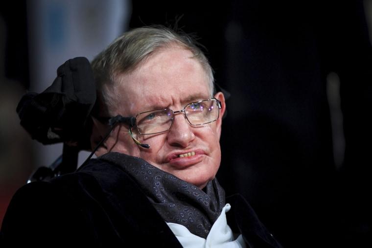 Stephen Hawking (Photo by John Phillips/Getty).