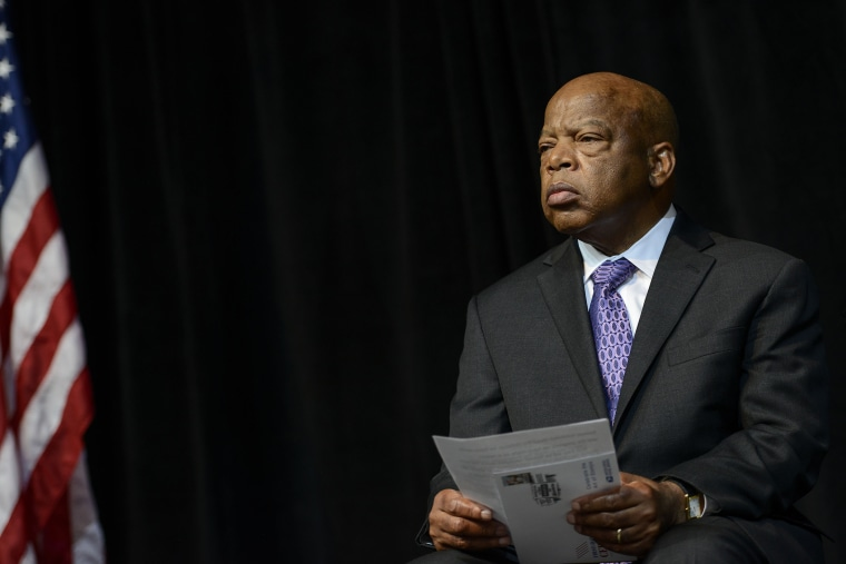 John Lewis attends an event on August 23, 2013 in Washington, United States. (Photo by Riccardo S. Savi/Getty)