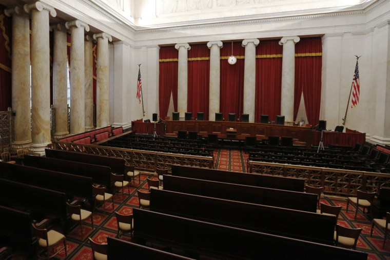 The courtroom of the U.S. Supreme Court is seen in Washington, April 4, 2016. (Photo by Jonathan Ernst/Reuters)