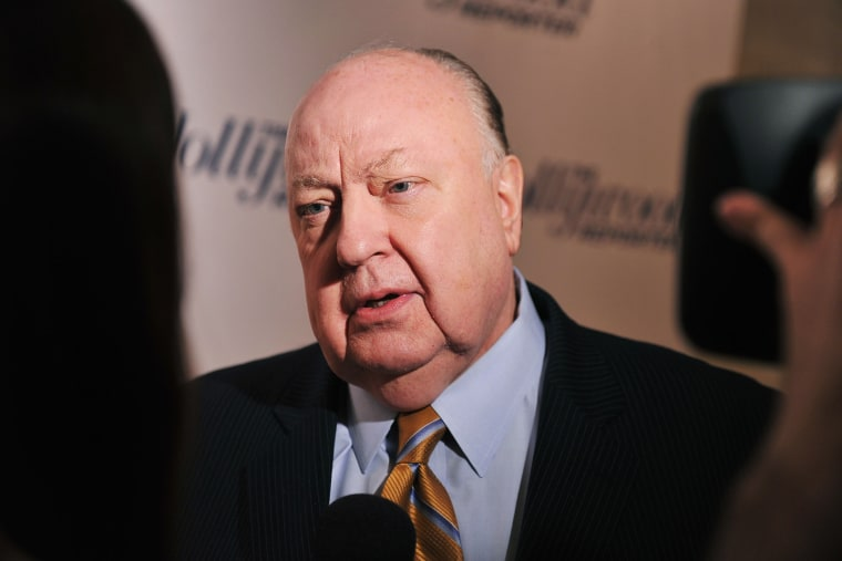 """Roger Ailes, President of Fox News Channel attends the Hollywood Reporter celebration of \""""The 35 Most Powerful People in Media\"""" at the Four Season Grill Room on April 11, 2012 in New York City. (Photo by Stephen Lovekin/Getty)"""