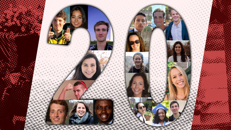 20 millennials on the 20 news stories that resonate with them most.