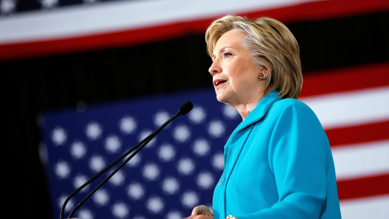 Democratic presidential nominee Hillary Clinton speaks at a rally at Truckee Meadows Community College in Reno, Nev., on Aug. 25, 2016. (Photo by Aaron P. Bernstein/Reuters)