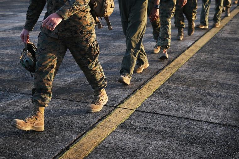 U.S. troops.