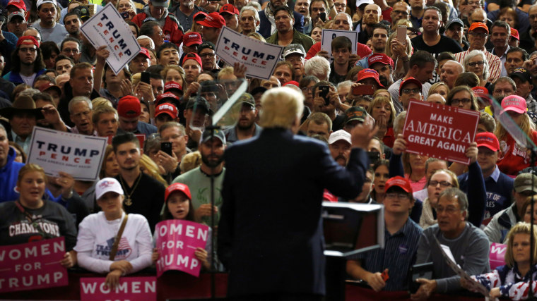 Republican U.S. presidential nominee Donald Trump holds a campaign rally in Cleveland, Ohio, Oct. 22, 2016. (Photo by Jonathan Ernst/Reuters)