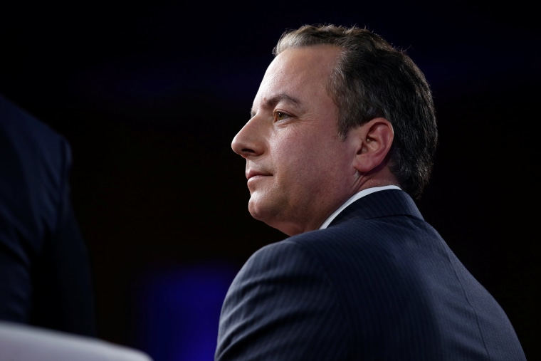 Image: White House Chief of Staff Reince Priebus speaks at the Conservative Political Action Conference (CPAC) in National Harbor, Maryland