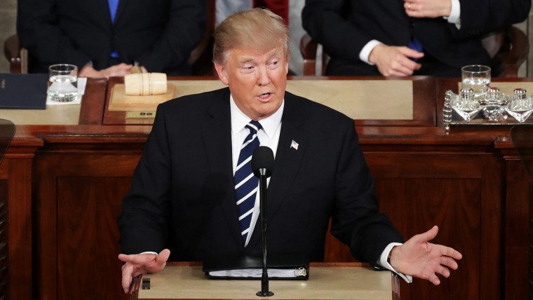 Image: Donald Trump Delivers Address To Joint Session Of Congress