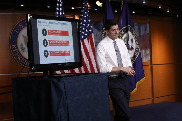 Image: House Speaker Paul Ryan Holds Weekly Briefing