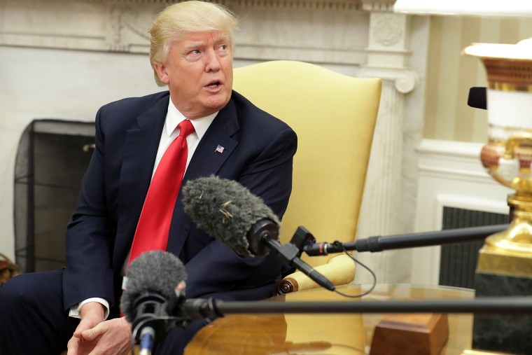 Image: President Trump meets With Prime Minister Of Denmark Lars Lokke Rasmussen In The Oval Office