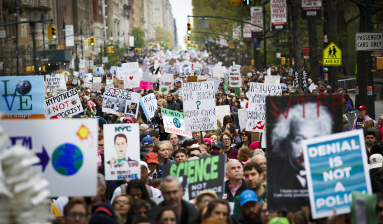 Image: March For Science in New York