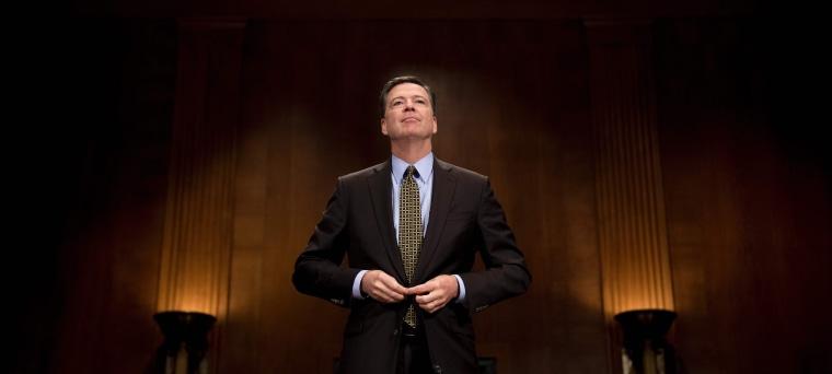 Image: US-POLITICS-FBI-CONGRESS-COMEY