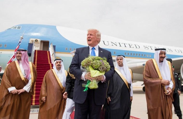 Image: US President Donald J. Trump visits Saudi Arabia