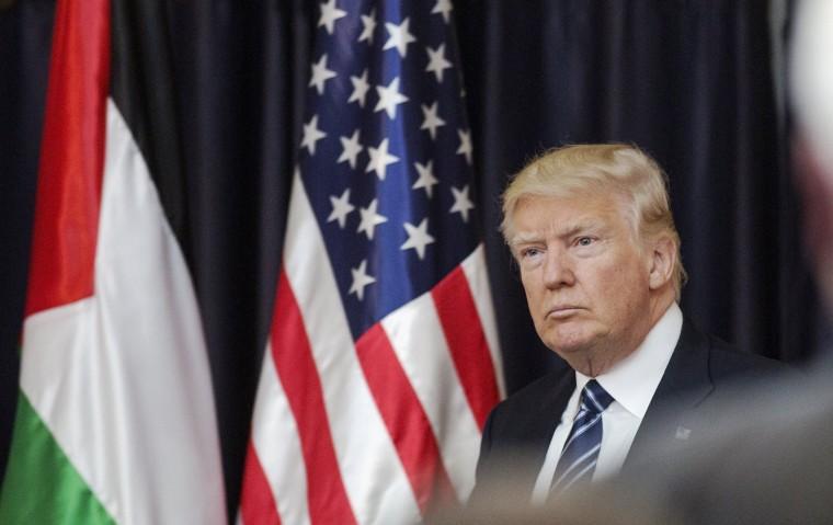 Image: US President Donald J. Trump visits Bethlehem