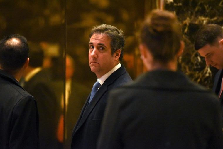 Image: Michael Cohen, attorney for The Trump Organization, arrives at Trump Tower in New York City