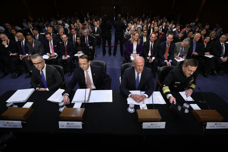Image: Director Of National Intelligence Daniel Coats, And Intel Chiefs Testify To Senate Intel Committee On FISA