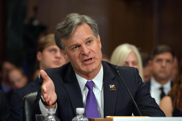 Image: US-POLITICS-FBI-WRAY