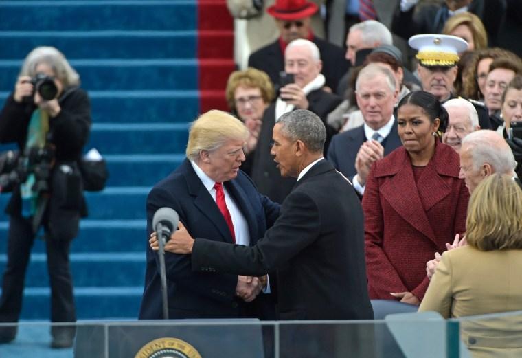 Image: US-POLITICS-TRUMP-INAUGURATION-SWEARING IN