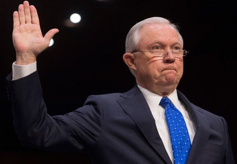 Image: US-POLITICS-JUSTICE-SESSIONS