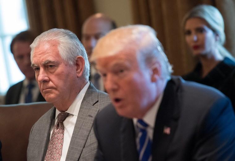 Image: Trump Designates North Korea as State Sponsor of Terror During Cabinet Meeting