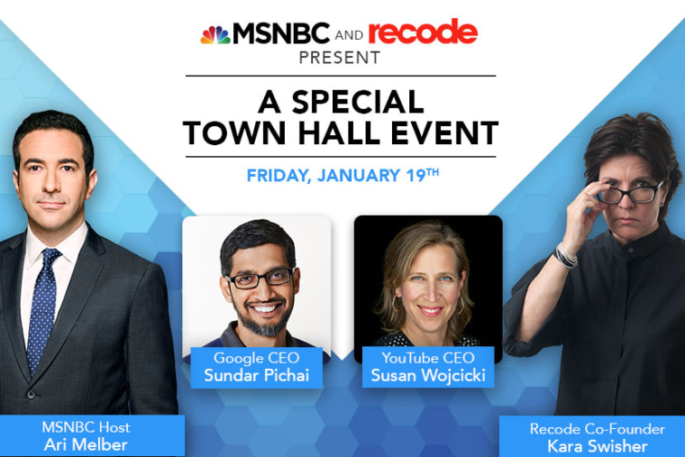 MSNBC and Vox Media's Recode launch new conversation series.