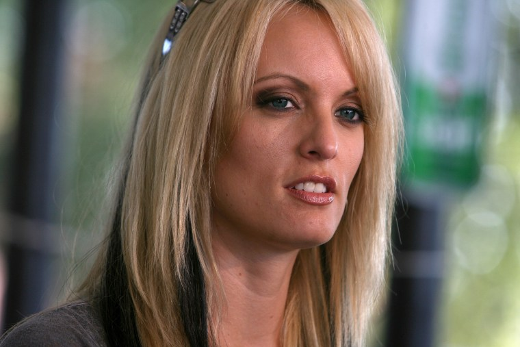 Adult-movie star Stormy Daniels stops at Rooster's Country Bar in Delhi, La. on Friday, July 3, 2009