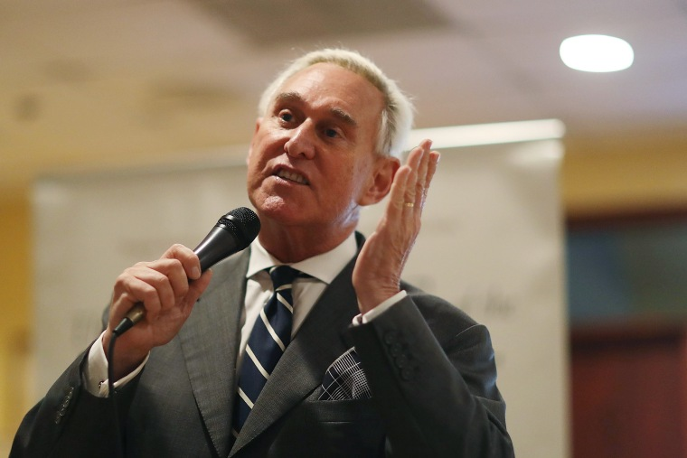 Roger Stone Addresses Women's Republican Club Of Miami