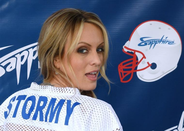 Image: Stormy Daniels Hosts Super Bowl Party At Sapphire Las Vegas Gentlemen's Club