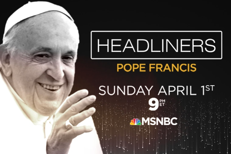 Headliners: Pope Francis