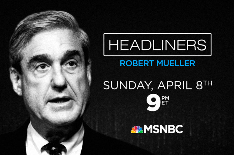 Headliners: Robert Mueller