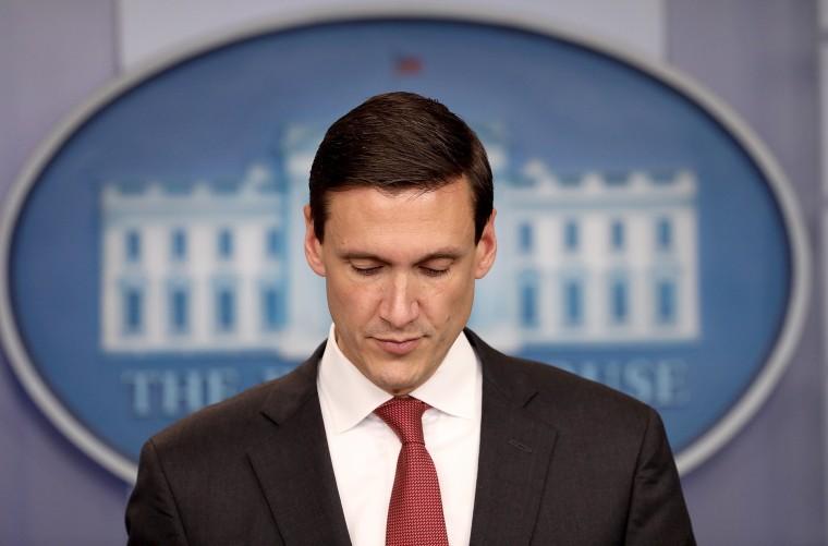 Image: FILE: Trump Homeland Security Adviser Tom Bossert Resigns