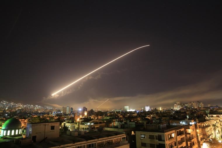 Image: Damascus Sky, Syria Attack