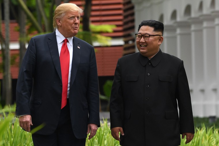 Image: SINGAPORE-US-NKOREA-DIPLOMACY-SUMMIT