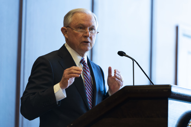 Image: AG Jeff Sessions Delivers Remarks On Immigration And Law Enforcement In PA
