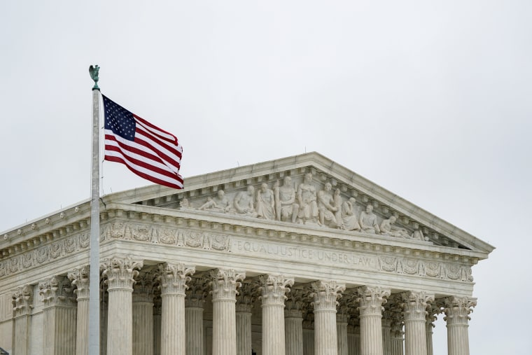Image: The U.S. Supreme Court is seen as the court nears the end of its term in Washington