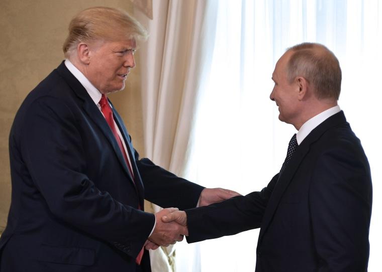 Image: Russia US Summit in Helsinki