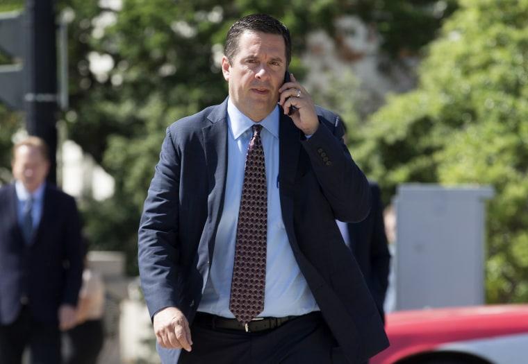 Image:  US House Intelligence Chairman Devin Nunes