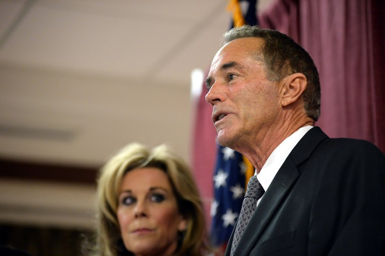 Image: Rep. Chris Collins Holds Press conference After Being Charged With Insider Trading