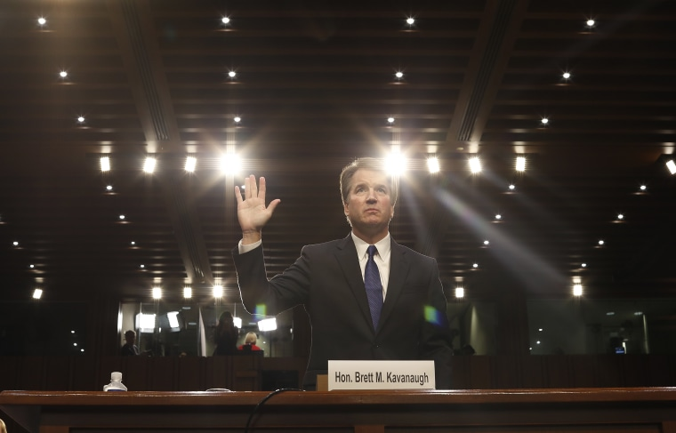 Image: Supreme Court nominee Brett Kavanaugh confirmation hearing