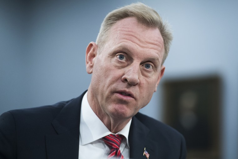 Acting Defense Secretary Patrick Shanahan testifies during a House Appropriations Defense Subcommittee hearing on the FY2020 Department of Defense budget in Rayburn Building on Wednesday, May 1, 2019.