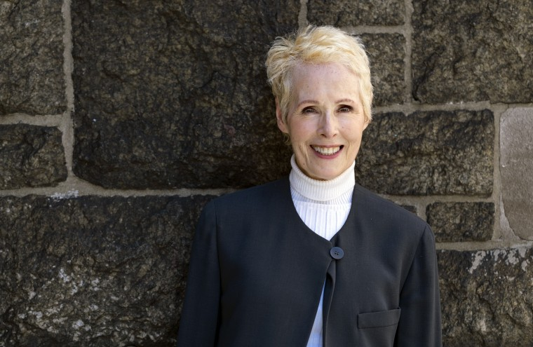 E. Jean Carroll is photographed, Sunday, June 23, 2019, in New York.