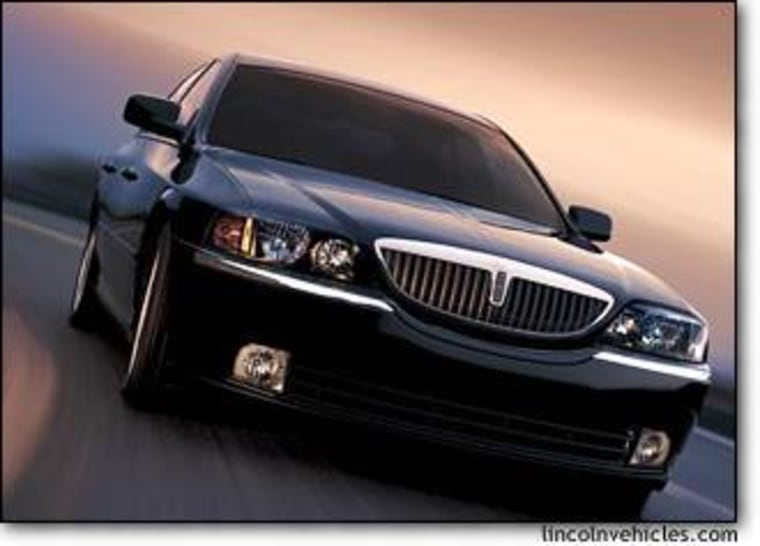 Ford's 2004 Lincoln LS is one of many luxury automobiles that are now offering buyer incentives.