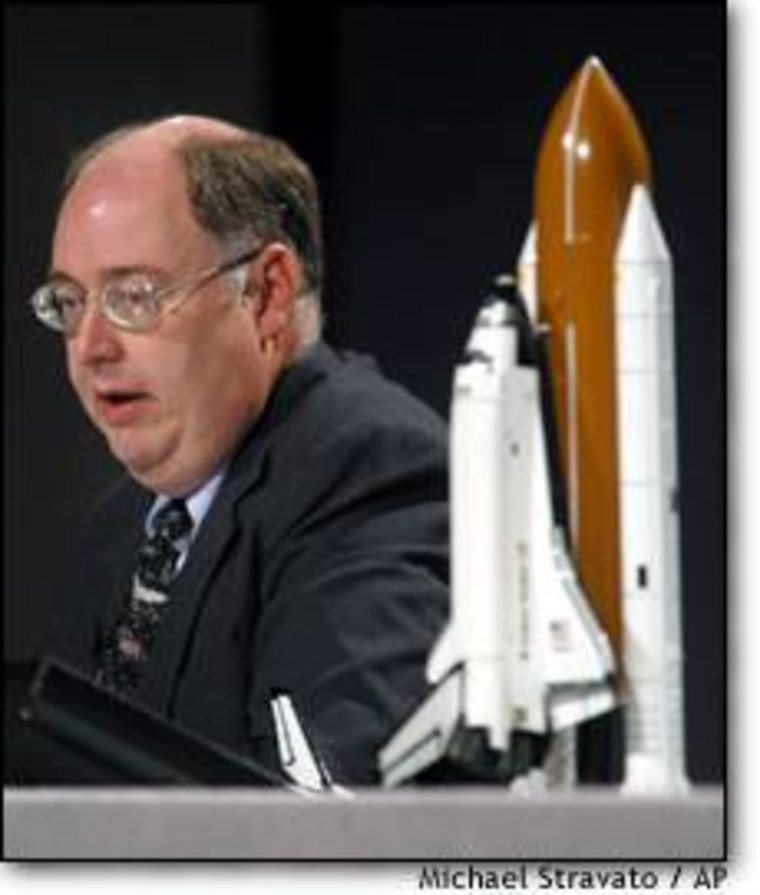 """We're trying to figure out """"how to deal with the human question, the human element in these communication issues,"""" says Wayne Hale, deputy manger of NASA's space shuttle program."""