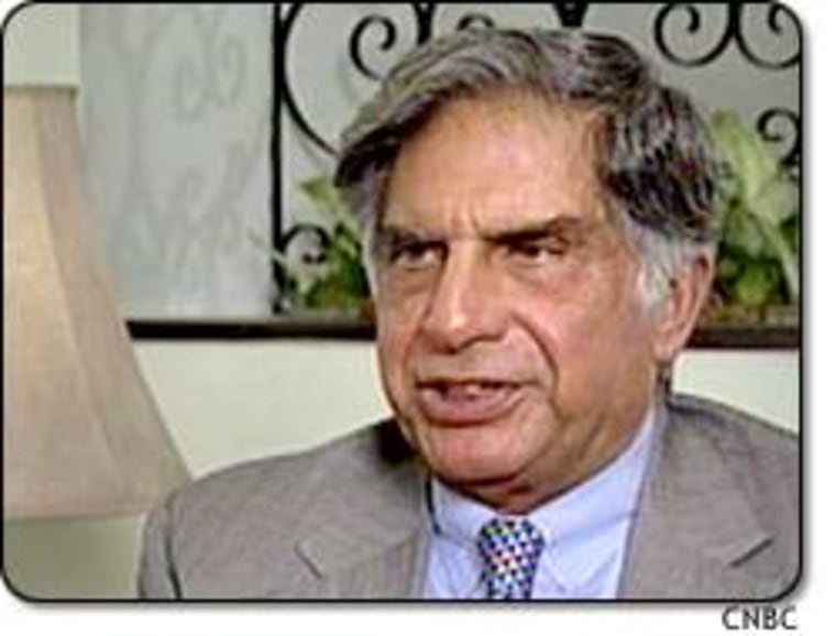 """I ask myself quite often what would happen if India and China could themselves create an economic bloc of their own with two billion people,"" Ratan Tata told CNBC's Sue Herera."