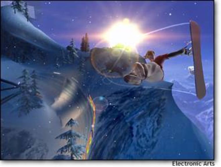 Getting air in SSX3.